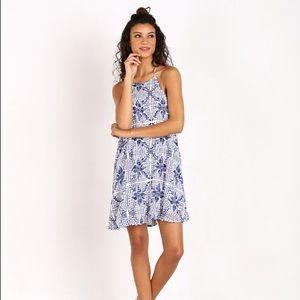 Show Me Your Mumu Katy Halter Mini Dress